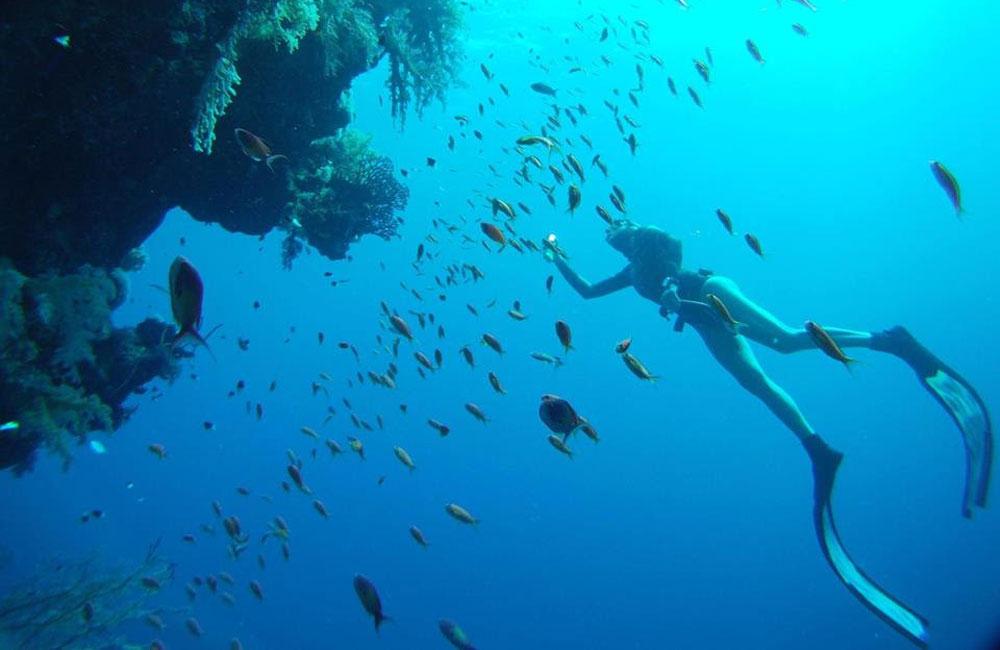Elena Mancini una sirena e sub al Panathlon Club Volterra